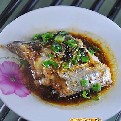 葱油豉汁带鱼的做法