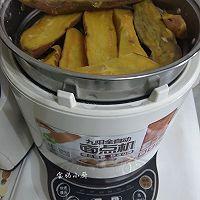 豆沙红薯丸,酥香软糯的做法图解1