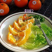 #美的圣诞,因味有你#橙子蔬菜拌沙拉酱