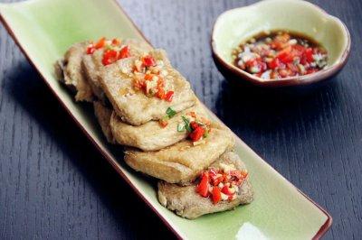 空气炸锅试用·香炸臭豆腐·付蘸料做法#九阳烘焙剧场#