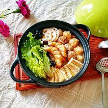 番茄芝士浓汤火锅#冬天就要吃火锅#