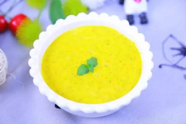 奶香藜麦南瓜糊 宝宝辅食食谱