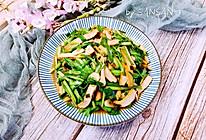 独家#韭菜炒香干 鲜香下饭的小白快手菜的做法