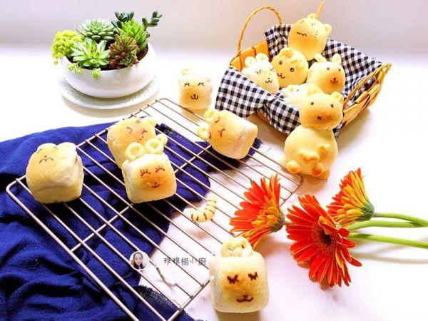小兔子酸奶面包