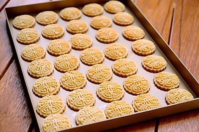 花生桃酥饼