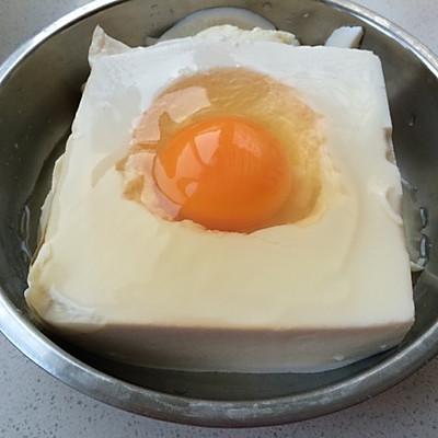豆腐蒸蛋的做法 步骤1