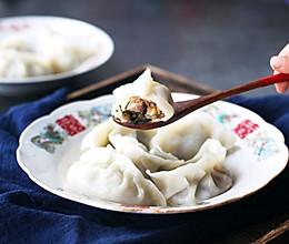 #仙女们的私藏鲜法大PK#香菇酸菜猪肉水饺的做法