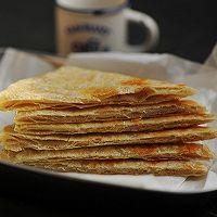 利仁电饼铛试用—脆皮椒盐千层饼(附超详细的烙饼制作过程)的做法图解23