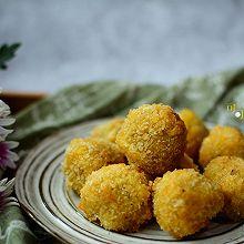 香酥炸红薯球:冬日里的小甜点