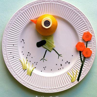 趣味早餐,小鸡快跑