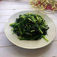#爽口凉菜,开胃一夏!#凉拌菠菜的做法图解10