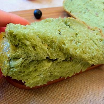 抹茶蜜豆土司——东菱果馅面包机DL-T12试用二