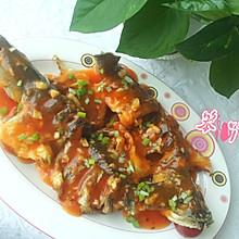 茄汁海鲈鱼