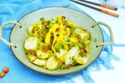 #多力金牌大厨带回家-上海站#酸菜牛肉年糕汤