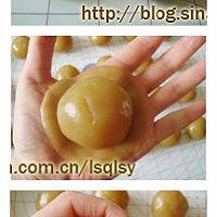 广式月饼.莲蓉蛋黄月饼--【食心食意】的做法图解8