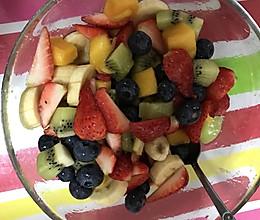 缤纷水果的做法