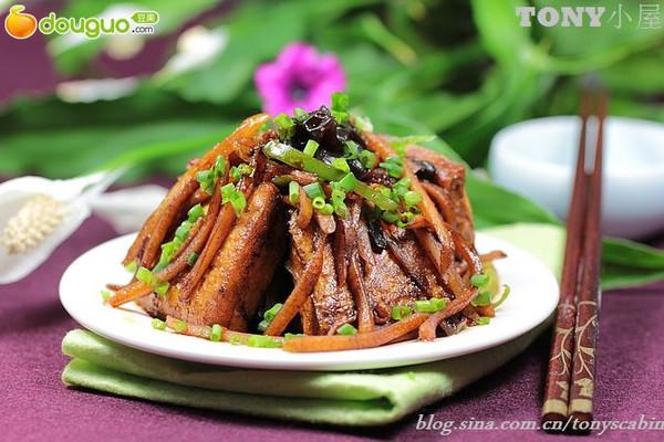 名门之秀:美艳的鱼香豆腐的做法