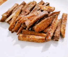 #全电厨王料理挑战赛热力开战!#甘梅地瓜条的做法