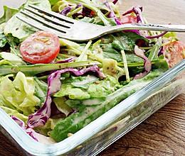 蔬菜沙拉#浪漫樱花季#的做法