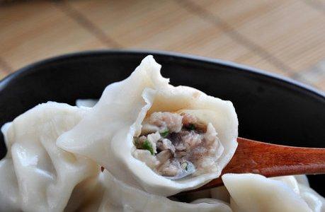 香菇水饺的做法