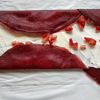红丝绒缎面毛巾卷的做法图解11