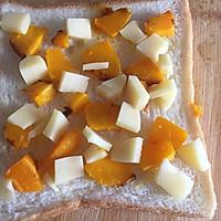 #硬核菜谱制作人#南瓜吐司披萨的做法图解4