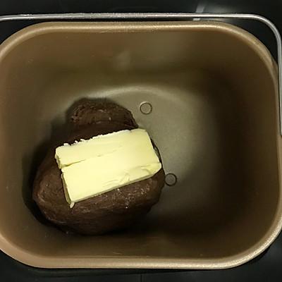 咖啡可可麻薯软欧包的做法 步骤4