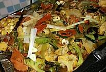 烤鱼杂蔬的做法