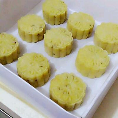 椰蓉绿豆饼