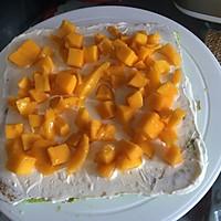 8寸生日蛋糕(方形)的做法图解4