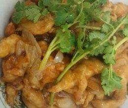 锅包肉(鸡肉版)的做法
