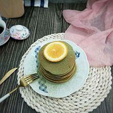 抹茶味小松饼