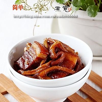 萝卜干红烧肉