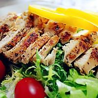 鸡肉瘦身沙拉的做法图解8