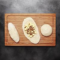 【鹦鹉厨房】原麦山丘主厨原创 - 玫瑰盐芝士软欧面包的做法图解6