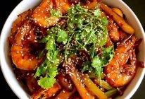 香辣干锅虾的做法