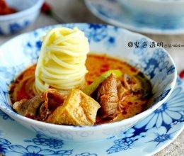 豆果独家:叻沙风味汤面的做法