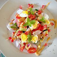 减肥必备—蔬菜鸡胸肉沙拉的做法图解4