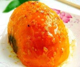 红腰豆蒸南瓜  的做法