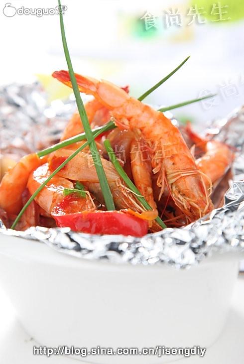 泰式酱焗明虾的做法