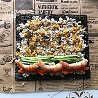 减脂吃❗关晓彤同款低卡无米寿司❗超饱腹❗的做法图解10