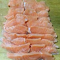 中式煎三文鱼的做法图解3