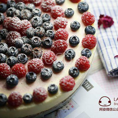 美貌天成-小红莓大理石芝士蛋糕