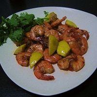 黄油柠檬虾
