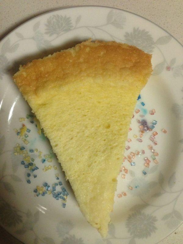 电饭煲牛奶蛋糕