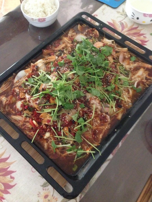 豆瓣酱少许 红辣椒少许 很多佐料详见步骤少量 烤鱼的做法步骤 分类