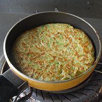黄瓜丝软饼#急速早餐#的做法图解5