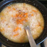 胡萝卜瘦肉粥-营养早餐粥的做法图解7