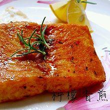 柠檬香煎鱼排(极简版)
