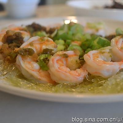剁椒粉丝蒸虾